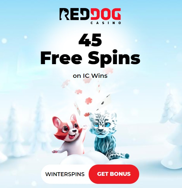 Red Dog Casino - 45 Free Spins